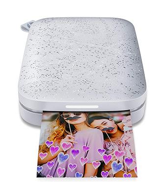 מדפסת ניידת לתמונות HP Sprocket 2nd Edition