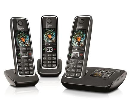 טלפון אלחוטי Siemens Gigaset C530A